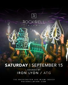 ROCKWELL SATURDAYS IRON LYON