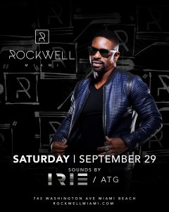 ROCKWELL SATURDAYS IRIE